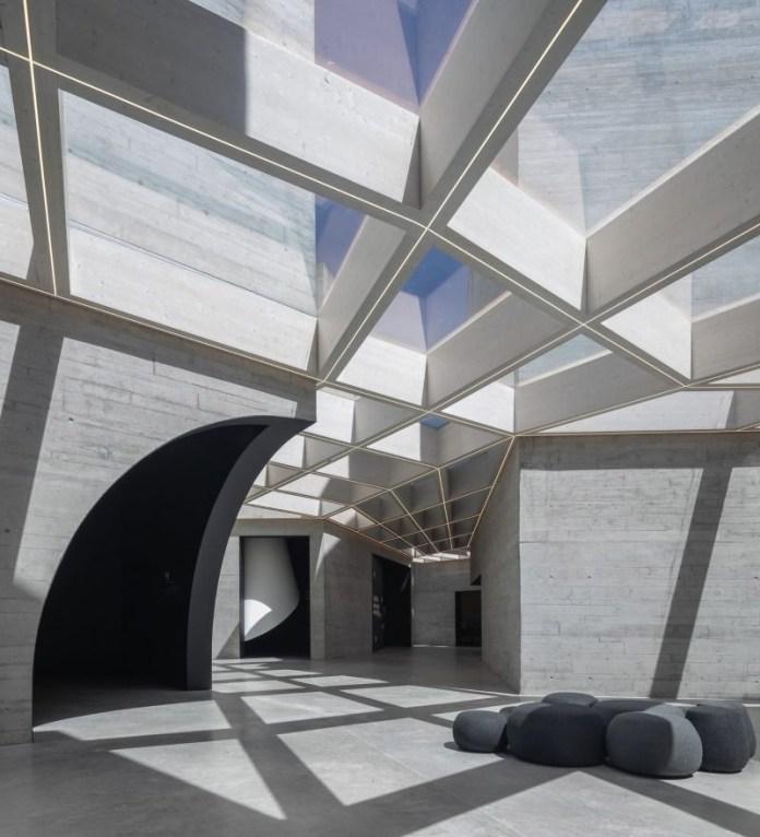 Press kit | 1968-13 - Press release | Architecture MasterPrize 2019 Winners Announced - Architecture MasterPrize - Commercial Architecture - INTERPRETATION CENTRE OF ROMANESQUE by Spaceworks - Photo credit: Spaceworks