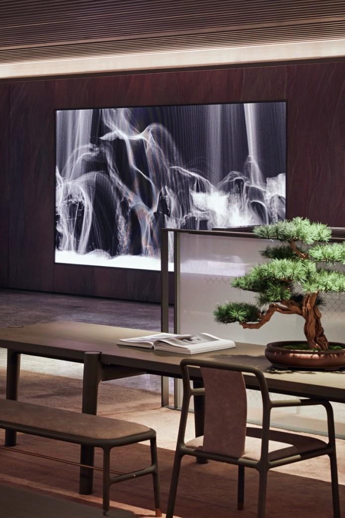 Press kit   3531-02 - Press release   Joya Hotel Hangzhou - Vermilion Zhou - Commercial Interior Design - Lobby_Multimedia Art - Photo credit: Yunpu Cai<span></span>