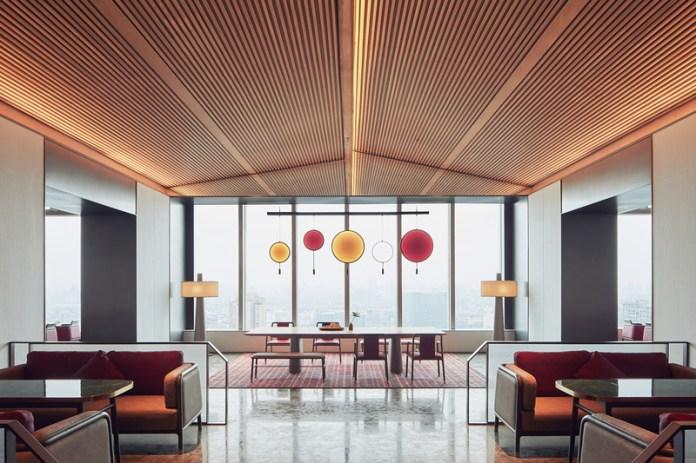 Press kit   3531-02 - Press release   Joya Hotel Hangzhou - Vermilion Zhou - Commercial Interior Design - 27F Dining Area - Photo credit: Yunpu Cai<span></span>