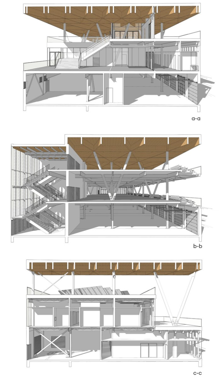 Press kit | 567-12 - Press release | Canada F1 Grand Prix - New Paddock - Les architectes FABG - Institutional Architecture - Photo credit: FABG