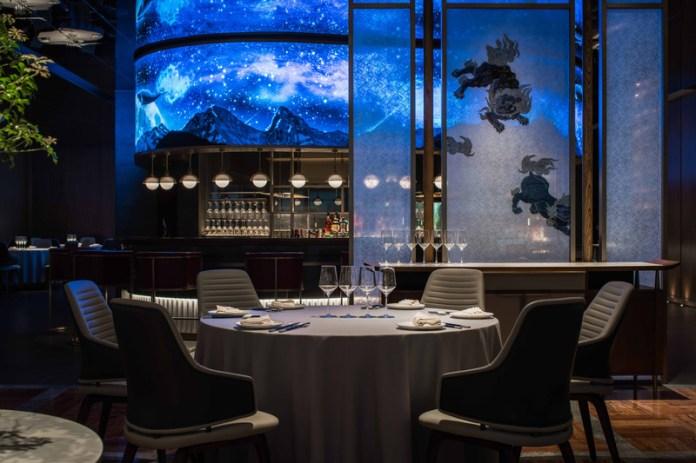 Press kit | 5588-02 - Press release | XU JI Seafood Restaurant (Land Kylin) - Daxiang Design Studio - Commercial Interior Design - Detail of the restaurant - Photo credit: ©️Chuan He