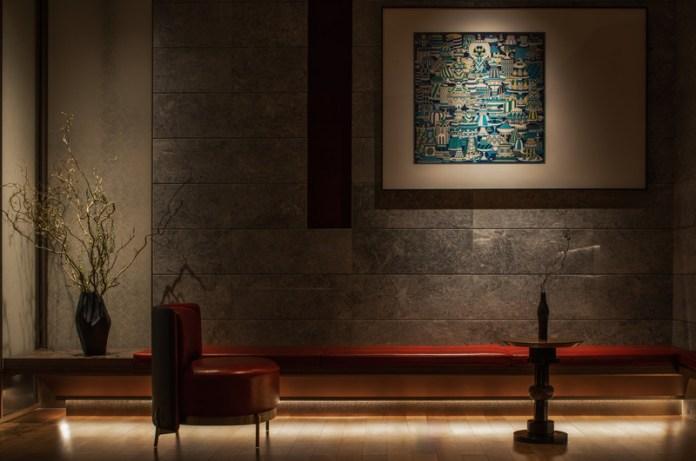 Press kit | 5588-02 - Press release | XU JI Seafood Restaurant (Land Kylin) - Daxiang Design Studio - Commercial Interior Design - Lounge of dining room - Photo credit: ©️Chuan He