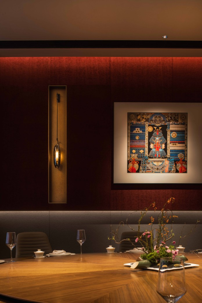 Press kit | 5588-02 - Press release | XU JI Seafood Restaurant (Land Kylin) - Daxiang Design Studio - Commercial Interior Design - VIP dining room - Photo credit: ©️Chuan He