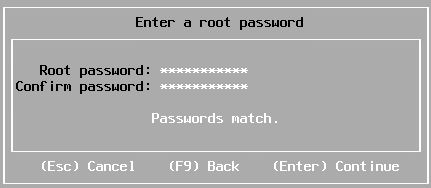 Passwords match