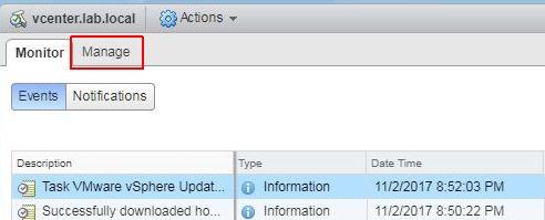 Update ESXi - Update Manager