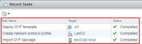 vSphere HTML5 Web Client Fling - Deploy
