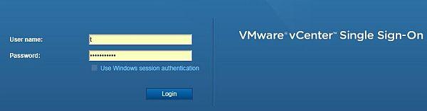 vSphere HTML5 Web Client Fling - SSO