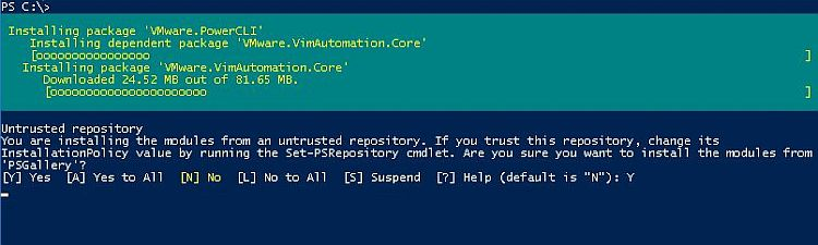 New Release - VMware PowerCLI 10 0 0 > CloudHat eu