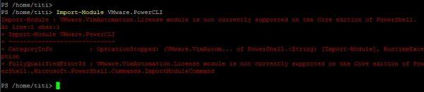 PowerCLI 11.1.0 - Import Module Error
