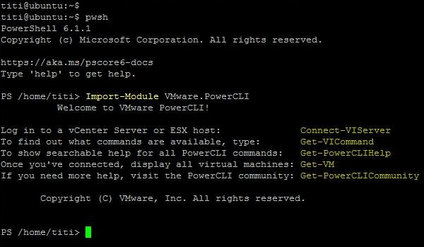 PowerCLI 11.1.0
