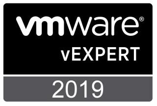 VMware vExpert 2019