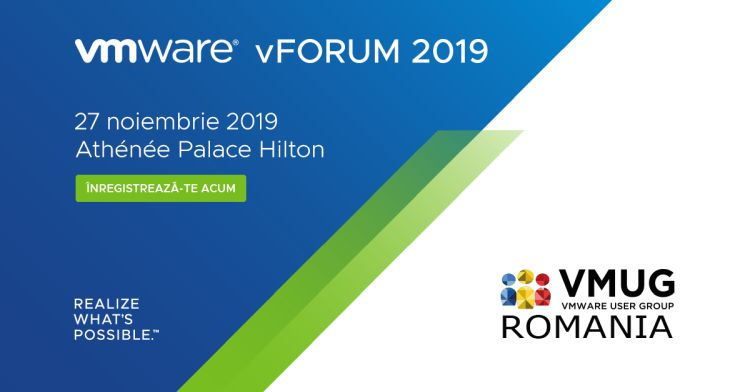 VMware vForum Romania 2019