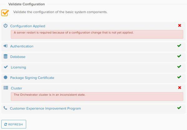 Configure vRealize Orchestrator - Validate Configuration