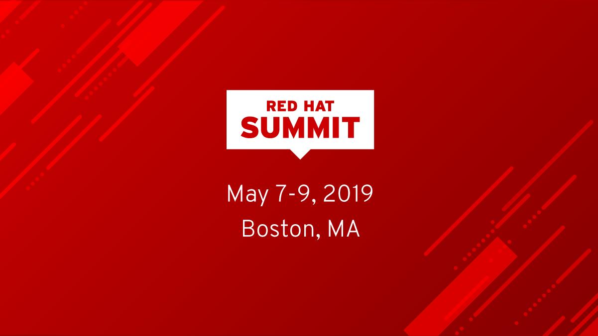 RedHat Summit 2019