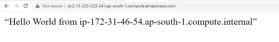EC2 User Data Script to Install Apache Web Server: Verify Installation