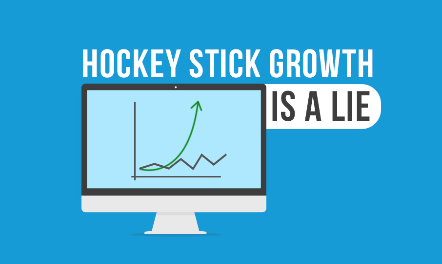 Startups: Hockey stick growth is a lie