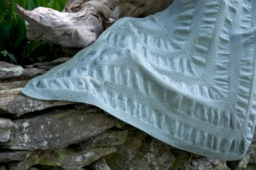 Beachglass Shawl 1