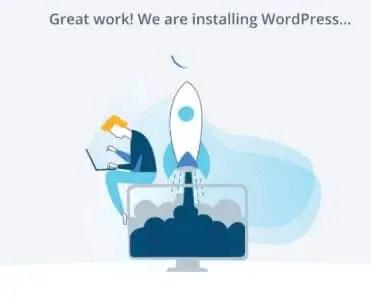 Bluehost-Stuck-installing-WordPress