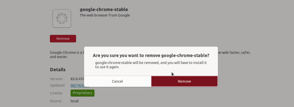 Uninstall-Google-chrome-on-Ubuntu
