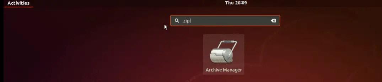 zip-a-file-linux
