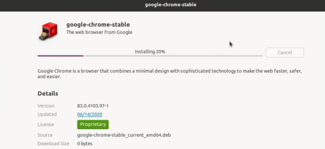 How-to-install-Chrome-on-Ubuntu-using Graphical interface