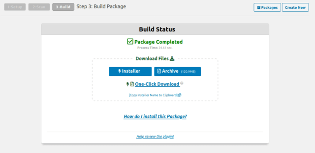 Download-build-package