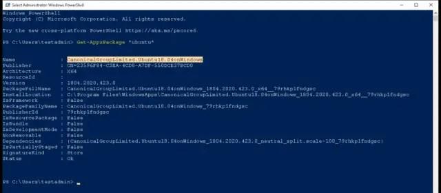 search ubuntu package wsl