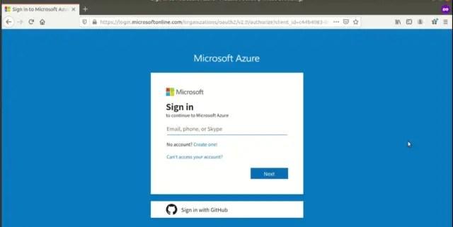 Microsoft-azure-signin