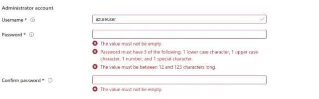 VM-username-password
