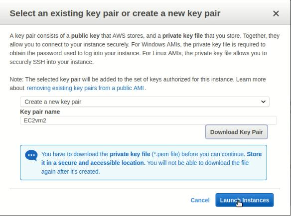 select-and-download-key-pair-for-amazon-web