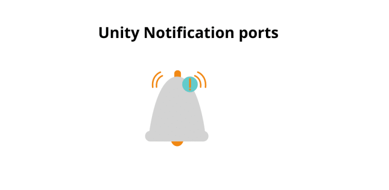 Dell-Unity-notification-ports