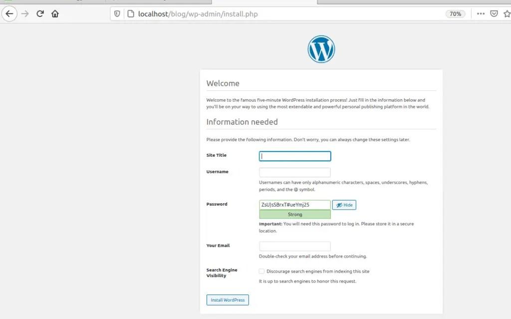 wp-admin-page-apache-ubuntu