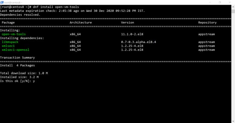 install-vmware-tools-centos