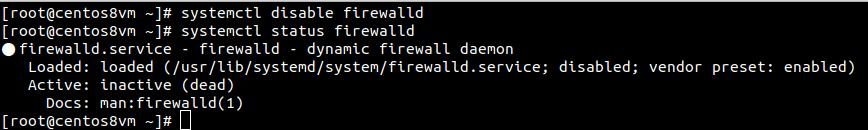 disable-firewall-on-centos8
