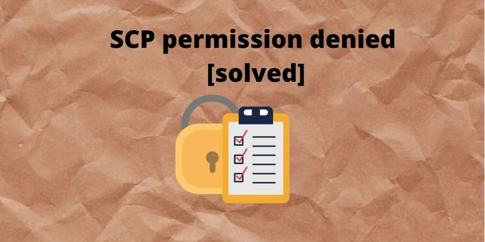 SCP-permission-denied-solved