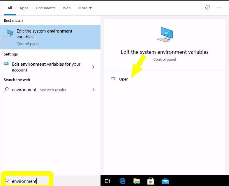 environment-variable-windows10