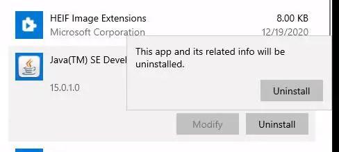 uninstall-java-runtime-environment-windows10