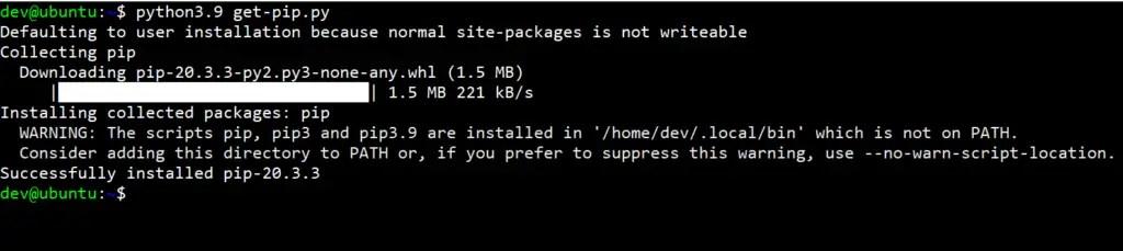 Install-python3-pip-ubuntu-20.04