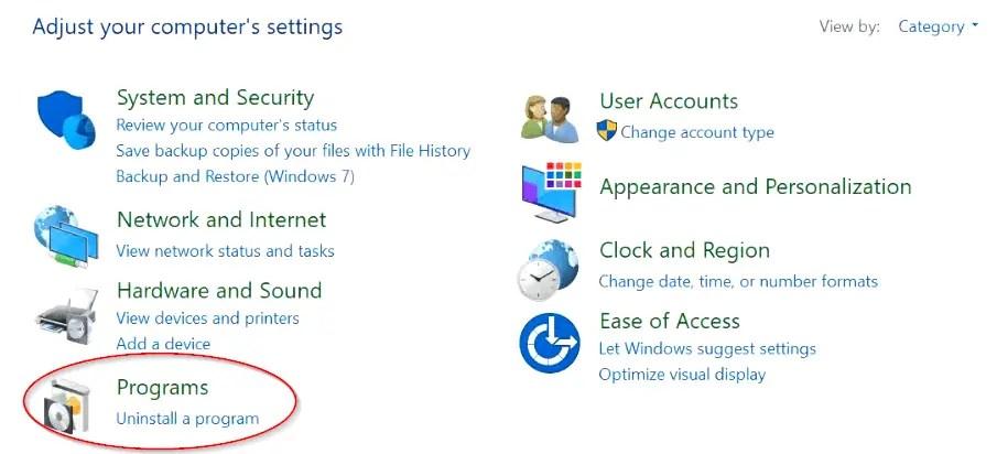 uninstall-a-program-windows10