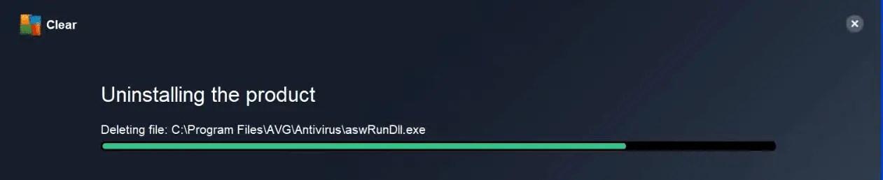 uninstall-avg-progress-window