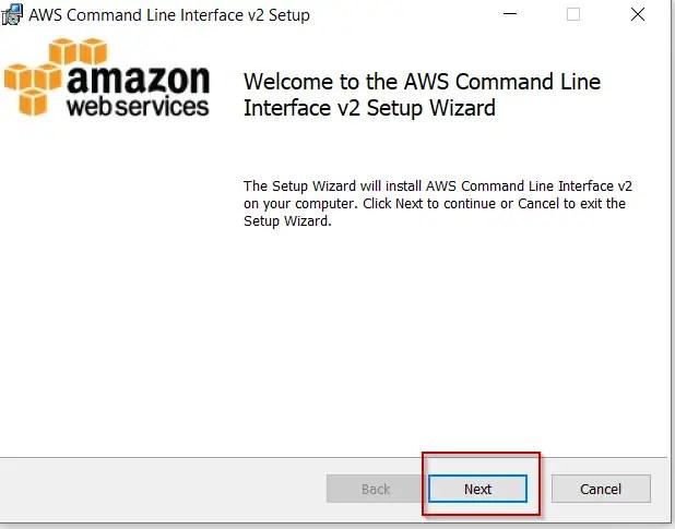 AWS-CLI-V2-welcome-screen