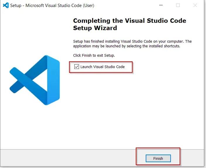 Launch-visual-studio-code