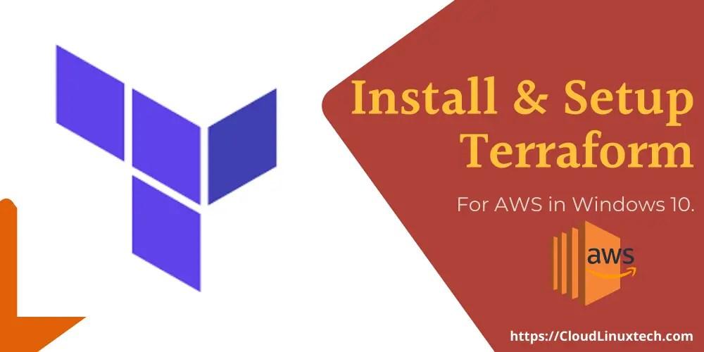 How-to-install-and-setup-Terraform-for-AWS