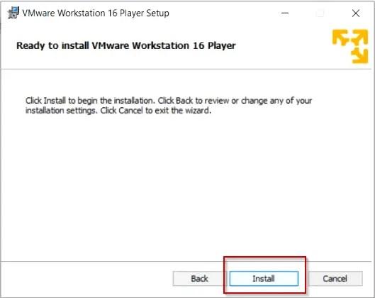Install-VMware-Workstation-Player-on-Windows -10