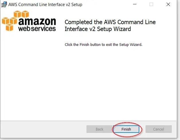 Finish-AWS-CLI-V2-installation