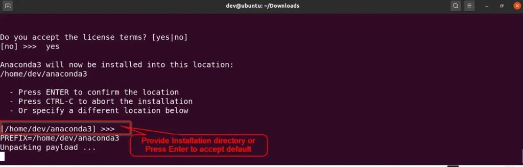 choose-anaconda-installation-directory