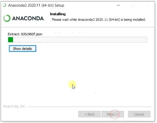Install-anaconda-on-Windows