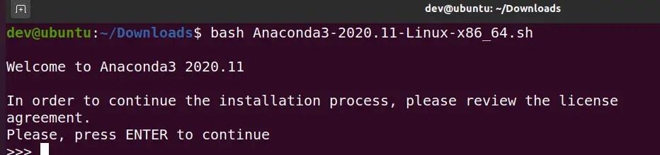 installing-anaconda-in-ubuntu-using-script