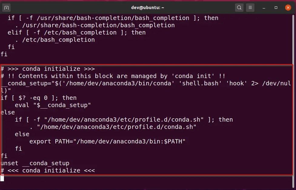 Delete-anaconda-variable-path