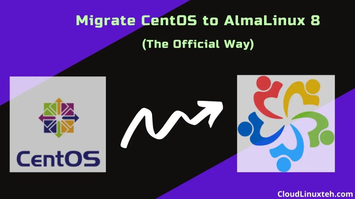 Migrate-CentOS-8-to-AlmaLinux-8